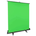 StudioKing Roll-Up Green Screen FB-150200FG 150x200 cm Chroma Groen