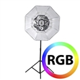Falcon Eyes RGB LED Lamp RX-782 met Opvouwbare Softbox 100 cm