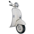 Zep Wall Art Scooter White YY455 45x90 cm