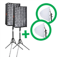 Falcon Eyes Flexibel LED Paneel RX-12TD Set 2