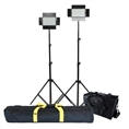 Falcon Eyes LED Lamp Set Dimbaar DV-384CT met Statief en Tas