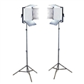 Falcon Eyes LED Lamp Set Dimbaar LP-DB1024CT met Statief