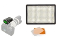 Pixel LED Lamp Set Dimbaar DL-913 met Pixel King Pro voor Nikon