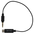 Boya Universele Adapter BY-K2 3,5mm TRS naar USB-C