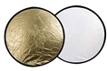 Falcon Eyes Reflectiescherm CFR-42G Goud/Wit 107 cm