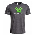 Vortex Green Logo T-shirt Maat XL